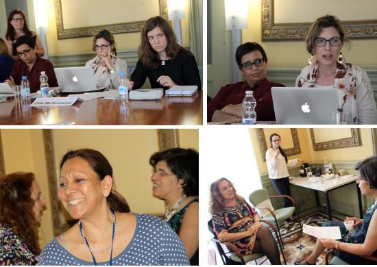 Encuentro de periodistas de la mediterranea Fotos Leonor Sedo