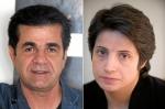 Yafar Panahi y Nasrin Sotoudeh/AFP