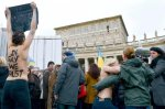 Militantes del movimiento Femen