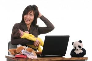 Mujer multitask