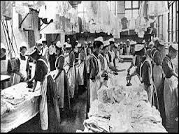 mujeres de las lavanderias de las magdalenas en Irlanda