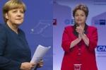 Ángela Merkel y Dilma Rousseff