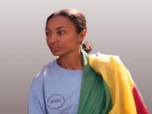La periodista etíope Reeyot Alemu gana el premio UNESCO-Guillermo Cano de Libertad de Prensa 2013 - © IWMF