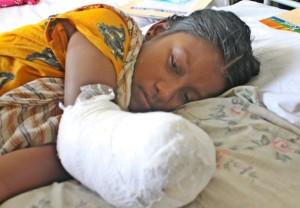 Fue el peor accidente industrial en la historia de Bangladesh, con al menos 1.127 muertos. Crédito: Naimul Haq/IPS