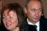 Putin con su ex mujer/Efe