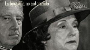 PORTADA. Pinochet e Hiriart, en la imagen que ilustra la tapa del libro.