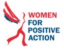 logo women for positive action