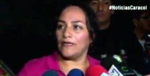 colombiana rescatada Mexico