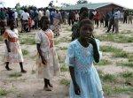 Varias niñas en el pueblo de Masekese, Malawi (AFP)