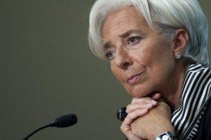 Cristina Lagarde, directora del Fondo Monetario Internacional/AFP