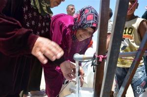 Mujer siria refugiada en Jordania/ Foto: IRIN/ Heba Ali