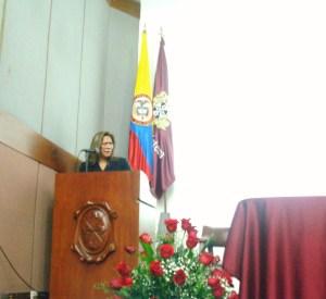 Diva Criado/Claustro Universidad del Rosario Bogotá. Foto/Bescobar