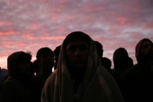 Imagen tomada en Calais, Francia ©BELGA_Zumapress_Medyan Dairieh