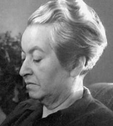 Gabriela Mistral. Imagen. Wikipedia