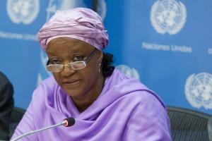 Zainab Bangura: Foto ONU/ Loey Felipe