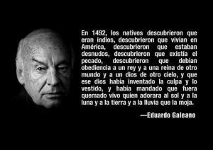 Otra de Galeano