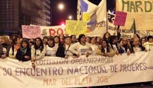 Cartel encuentro en Argentina