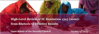 Resolución 1325