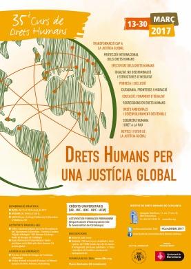 Cartel de derechos humanos