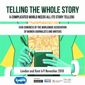 XXII congress of the worldwide Association of women journalists and writers